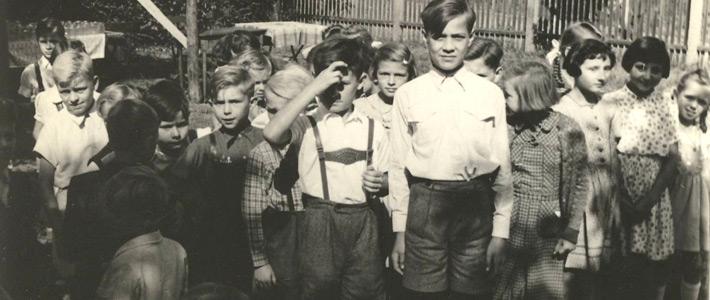 50er Jahre - Kinderspiele
