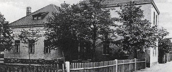 Ansicht des Vereinshauses