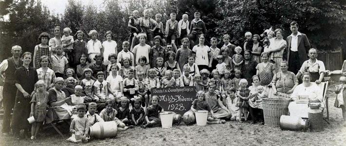 1928 - Milchkolonie